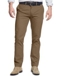 Tommy Hilfiger Slim-Fit Chino Pants - Lyst