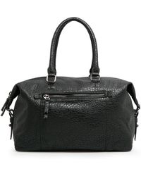 Mango - Pebbled Weekend Bag - Lyst