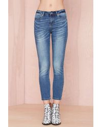 Nasty Gal So Faded Skinny Jeans - Lyst