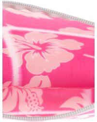 Luisa Cevese Riedizioni - Hibiscus Print Make-up Bag - Lyst