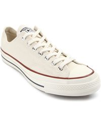 Converse 70s Chuck Crushed White Canvas - Lyst