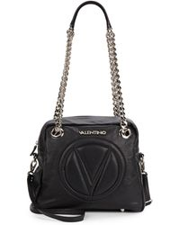 Valentino Palamero Leather Shoulder Bag - Lyst