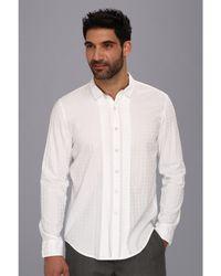 Calvin Klein Jeans Ls Tux Shirt - Lyst