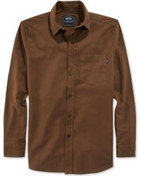 Wesc Tyrone Solid Longsleeve Shirt - Lyst