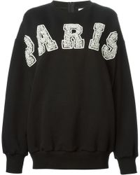 Ashish Paris Embellished Sweatshirt - Lyst