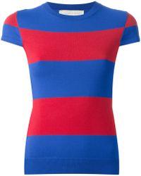 Stella McCartney Rugby Stripes Sweater - Lyst