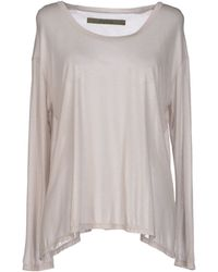 Enza Costa T-Shirt gray - Lyst