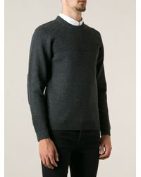 Surface To Air Ribbed Panel Sweater - Lyst
