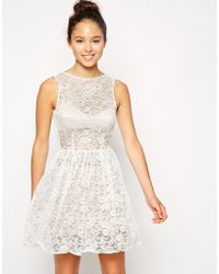American Apparel Sleeveless Lace Dress floral - Lyst