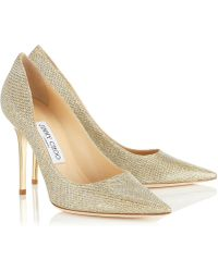 Jimmy Choo Gold Abel - Lyst