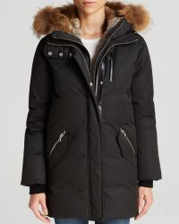 Mackage Fur Trim Marla Lavish Down Coat - Lyst