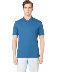 Calvin Klein Pima Cotton Polo - Lyst