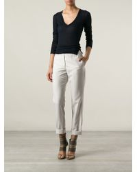 Isabel Marant V Neck Top - Lyst