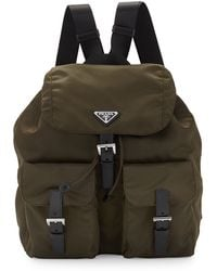 Prada Vela Medium Backpack - Lyst