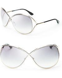Tom Ford Miranda Crossover Sunglasses - Lyst