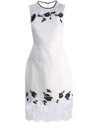 Erdem Floral Lace Dress - Lyst