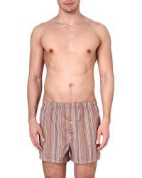 Paul Smith Multistripe Slim Fit Cotton Boxers - Lyst