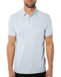 7 Diamonds Ultimate Contrast Trimmed Polo Shirt - Lyst