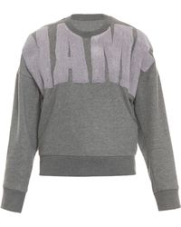 3.1 Phillip Lim Name Drop Terry Sweater - Lyst