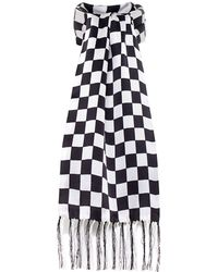 Tootal | Silk Chequered Flag Scarf | Lyst