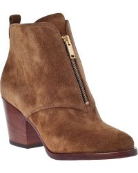 Marc By Marc Jacobs 636701 Ankle Boot Tan Suede - Lyst