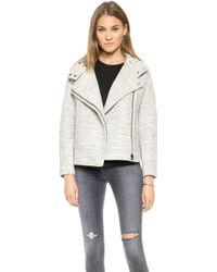 J Brand Pallenberg Jacket  Grey Heather - Lyst
