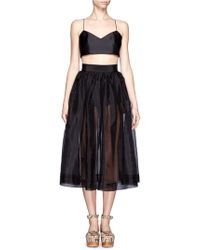 Chictopia - Cropped Bralet - Lyst