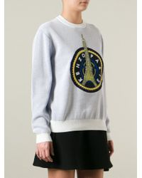 KENZO - 'Eiffel Tower' Sweatshirt - Lyst