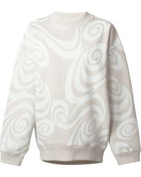 Acne Studios Beige Beta Sweatshirt - Lyst