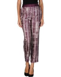 By Malene Birger Casual Pants - Lyst