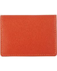 Barneys New York Folding Card Case - Lyst