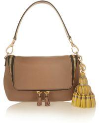 Anya Hindmarch Courtney Leather Tassel Keychain - Lyst