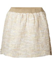 Anna Sui Sequin Embellished Miniskirt - Lyst