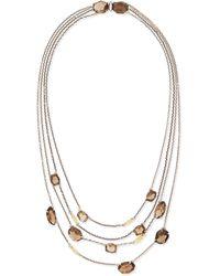 Alexis Bittar Fine - 5-strand Smoky Quartz Necklace - Lyst