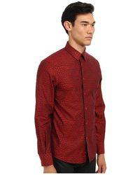 Versace Animal Print Cotton Button Up - Lyst