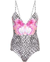 Athena Procopiou - Hendrix Girl V-neck Swimsuit - Lyst