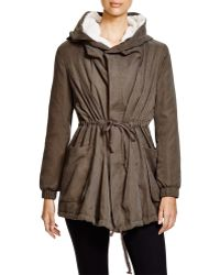 Lush - Fleece-lined Hooded Jacket - Lyst