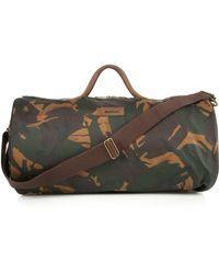 Barbour Glenn Holda Camouflage-Print Duffel Bag green - Lyst