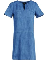 A.P.C. Short Dress - Lyst