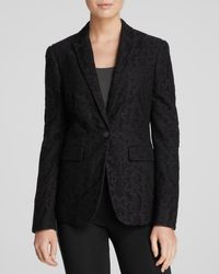 Burberry London Blazer Buckland Lace - Lyst