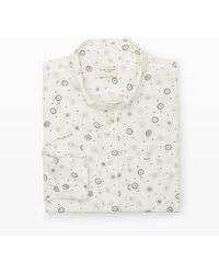 Club Monaco Slim-fit Firework Shirt - Lyst