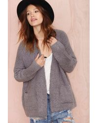 Nasty Gal Dakota Cardigan - Lyst