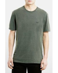 Topman Ltd Core Collection T-Shirt green - Lyst