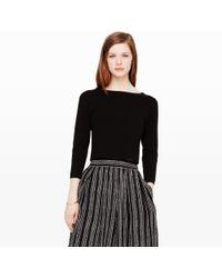 Club Monaco Lizeth Crop Sweater - Lyst