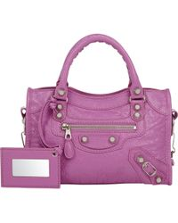 Balenciaga Arena Giant 12 Mini City purple - Lyst