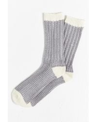 O'Hanlon Mills - Pleated Yarn Boot Sock - Lyst