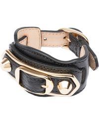 Balenciaga | Classic Metallic Edge Bracelet | Lyst