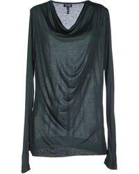 Armani Jeans Green Tshirt - Lyst