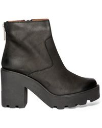 Pixie Market Joan Everyday Platform Ankle Boots - Lyst