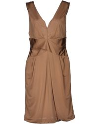 Emporio Armani Short Dress - Lyst